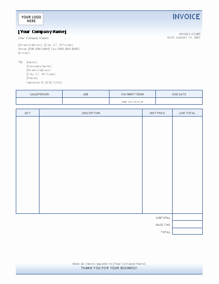 Microsoft Access Invoice Templates Awesome Invoice Template Invoices