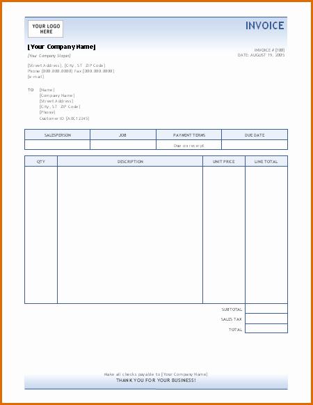 Microsoft Access Invoice Templates Elegant 15 Microsoft Office Invoice Template