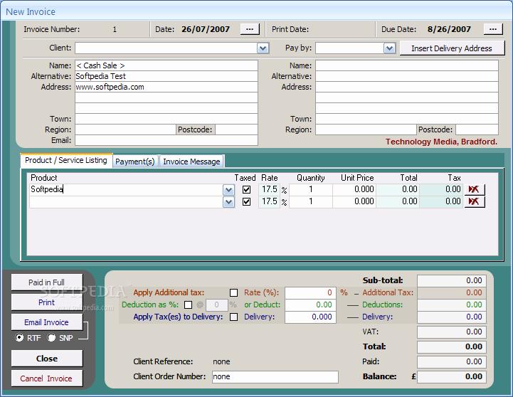 Microsoft Access Invoice Templates Unique Access Invoice Template Free
