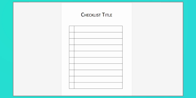 Microsoft Word Check Template Awesome Checklist Template Word Free Download the Best Home