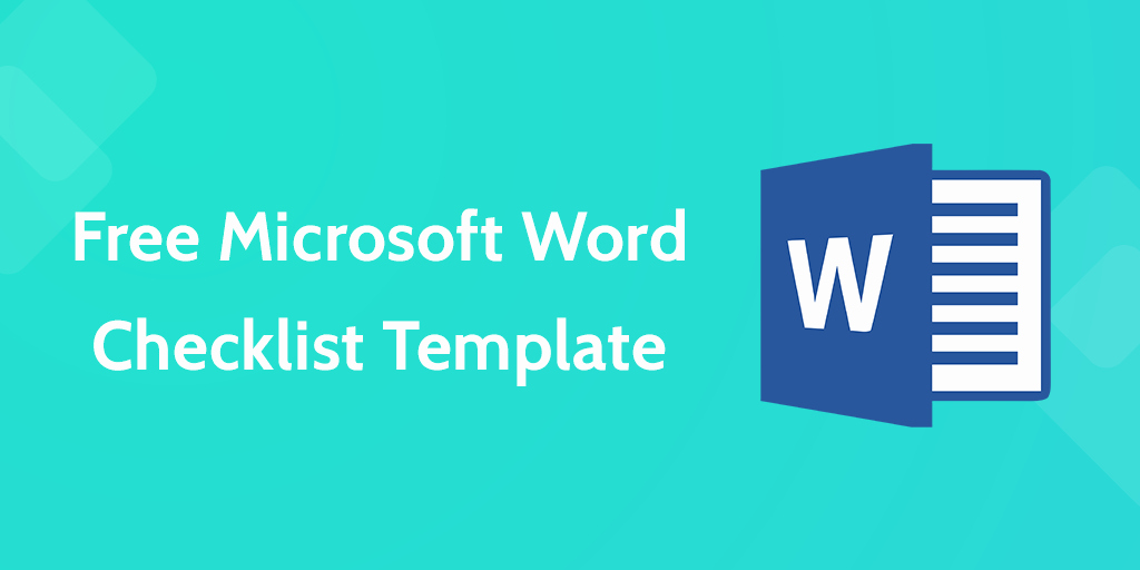Microsoft Word Check Template Awesome Download Your Free Microsoft Word Checklist Template