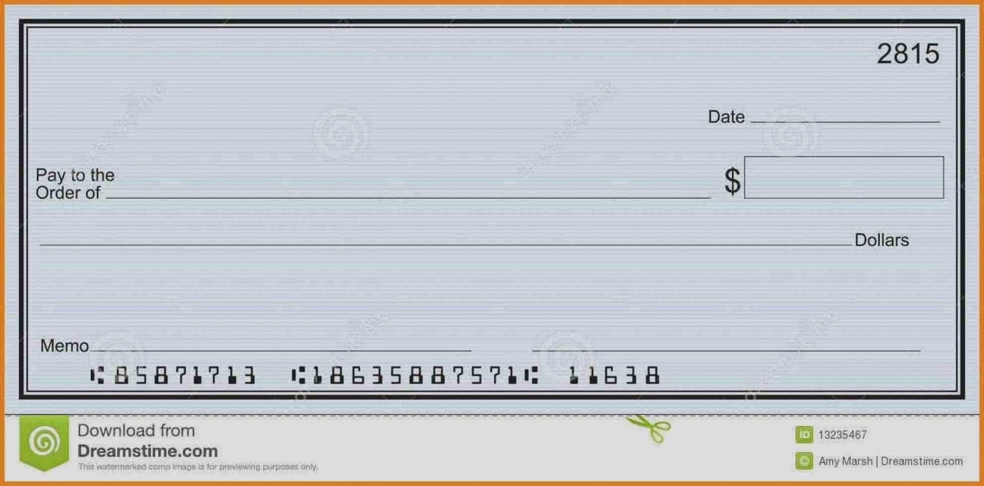 Microsoft Word Check Template Best Of Blank Check Template Valid 52 Fresh Blank Check Templates