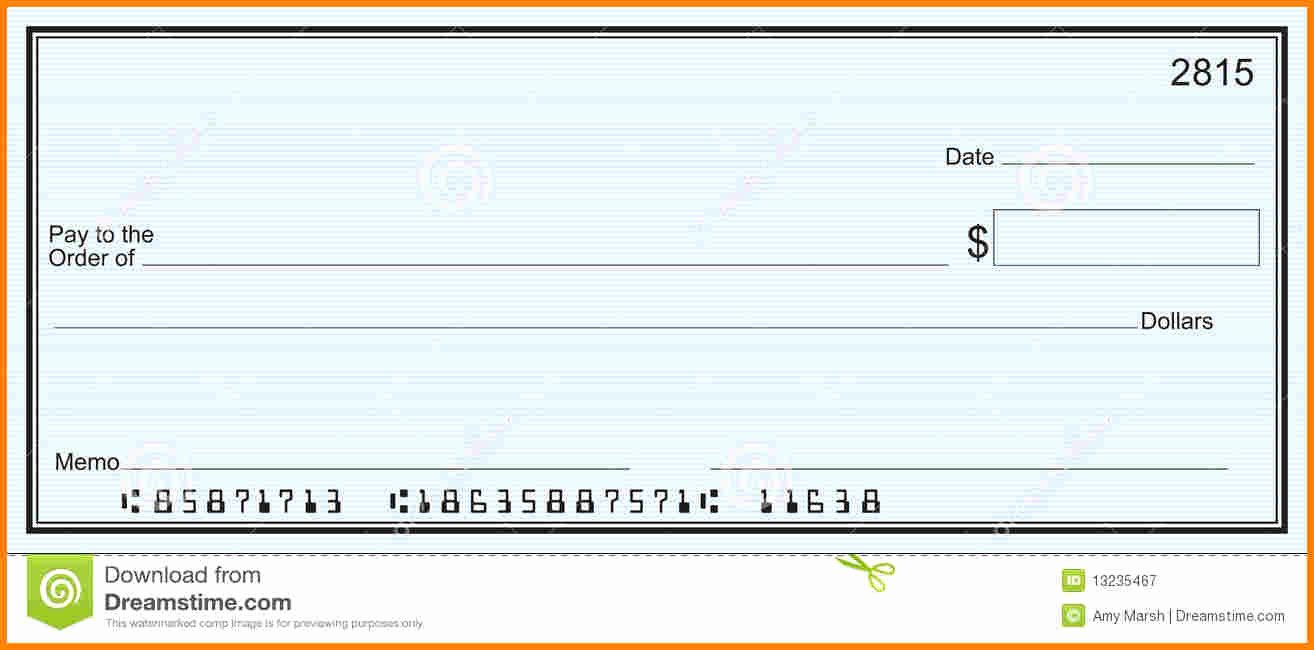 Microsoft Word Check Template Fresh 25 Of Blank Check Template