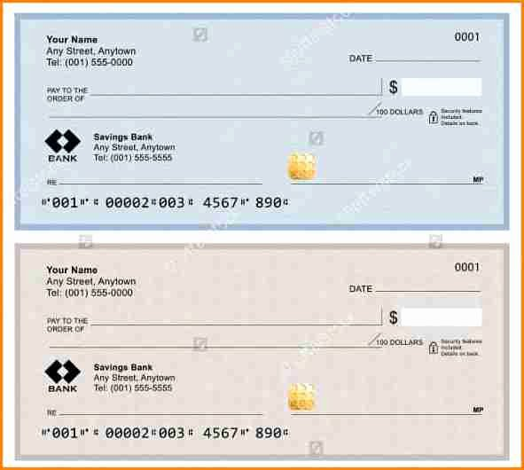Microsoft Word Check Template New 5 Paycheck Template Microsoft Word