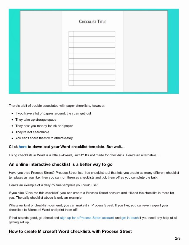 Microsoft Word Check Template Unique Download Your Free Microsoft Word Checklist Template