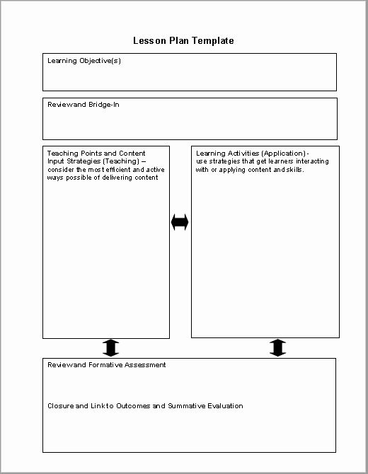 Microsoft Word Lesson Plan Template Fresh 39 Free Lesson Plan Templates Ms Word and Pdfs Templatehub