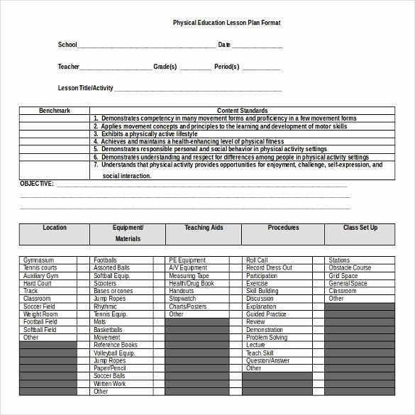 Microsoft Word Lesson Plan Template Lovely 11 Microsoft Word Lesson Plan Templates