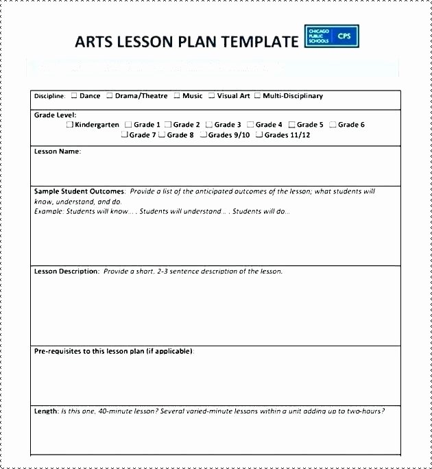 Middle School Lesson Plan Template Inspirational Middle School Science Lesson Plan Template Blank social