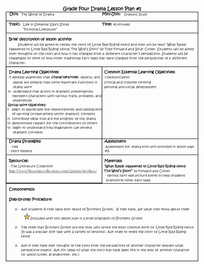free printable weekly lesson plan template education preschool language arts middle school examples