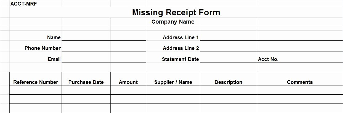 Missing Receipt form Template Beautiful Auditing Procedures for Accounts Payable Wroc Awski