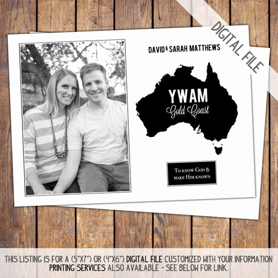 Mission Trip Donation Letter Fresh Missions Trip Support Card Modern Photo by Joypribishdesigns