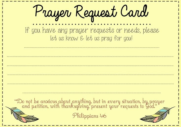 Missionary Prayer Card Template Free Awesome First Baptist Church News