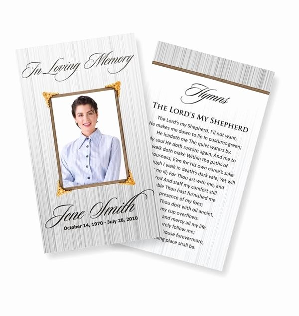 Missionary Prayer Card Template Free Beautiful 1000 Ideas About Funeral Prayers On Pinterest