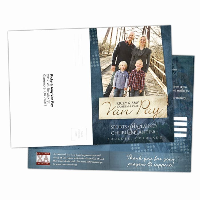 Missionary Prayer Card Template Free Lovely 5x7 Perforated Missionary Reply Cards Missions Linked