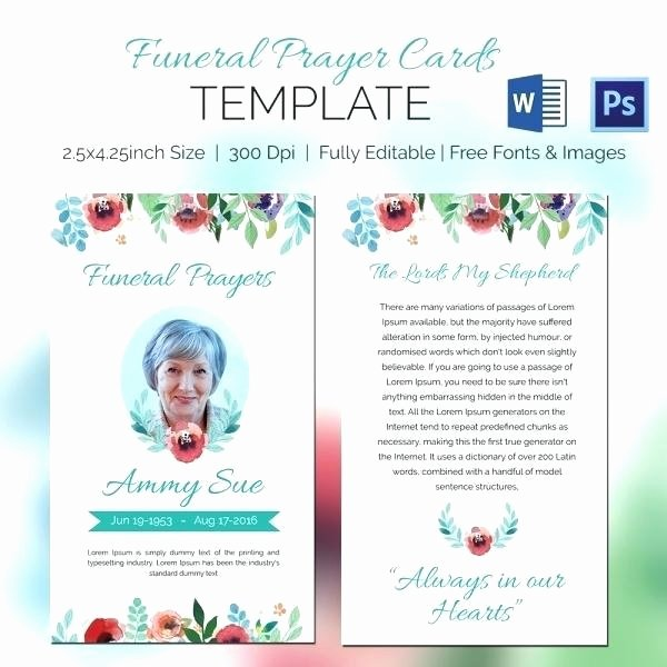 Missionary Prayer Card Template Free New Prayer Cards Template top Result for Luxury Request