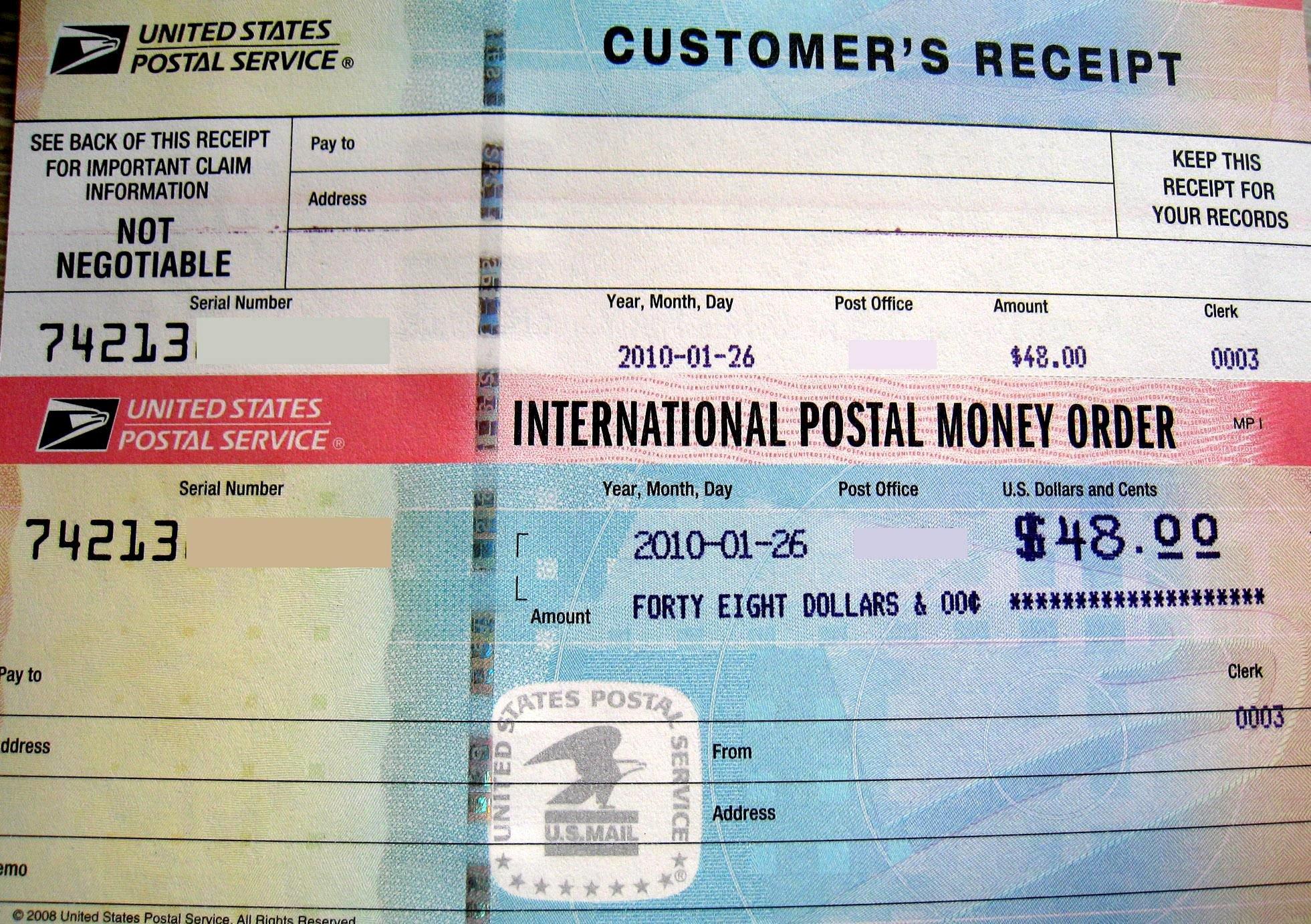 Money order Receipt Generator Best Of How Money orders Work Tips for Payments