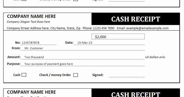 Money order Receipt Generator Fresh Cash Receipt Template Fice Templates