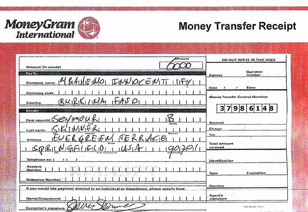 Money order Receipt Template Beautiful Money Gram Receipt Payment Receipt Money orders Moneygram