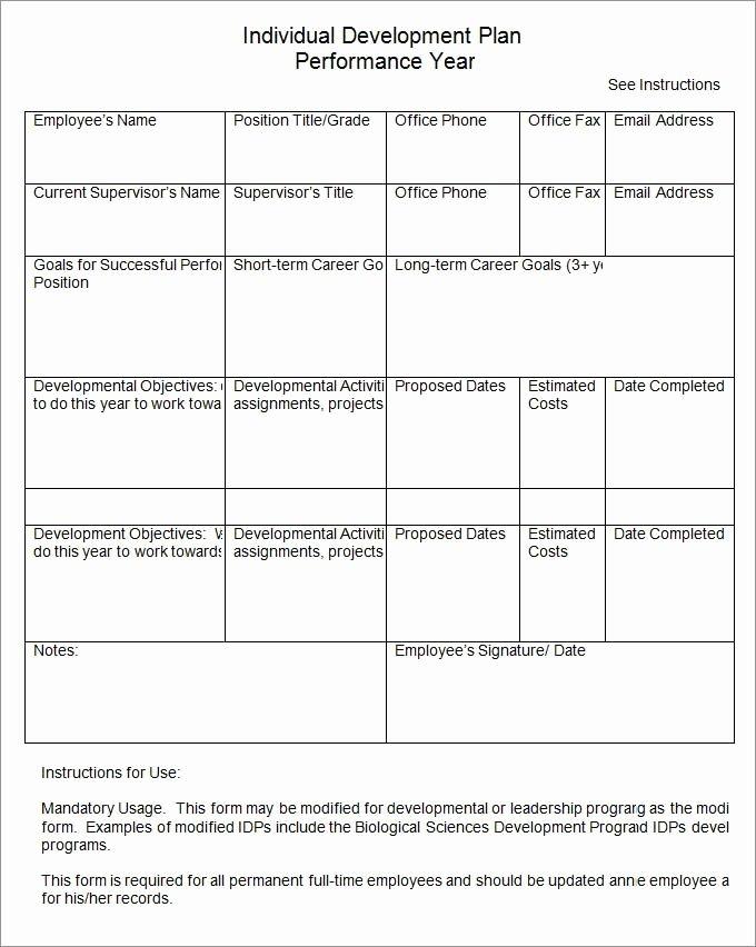 Mopta Lesson Plan Template Beautiful Professional Development Plan Sample