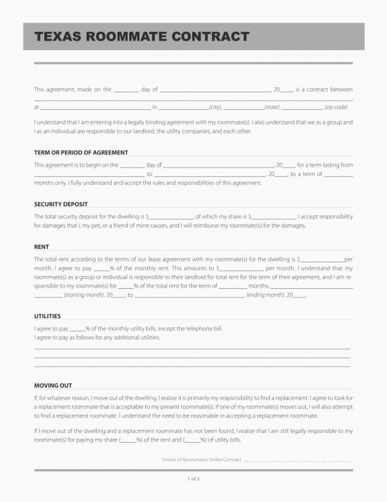Move Out Agreement form Fresh Ten Easy Ways to Facilitate Move Out