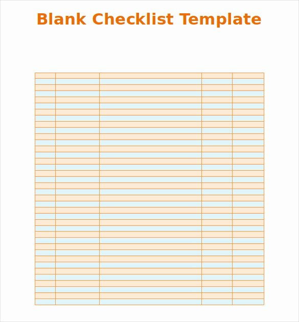 Ms Word Check Template Lovely Blank Checklist Template 36 Free Psd Vector Eps Ai