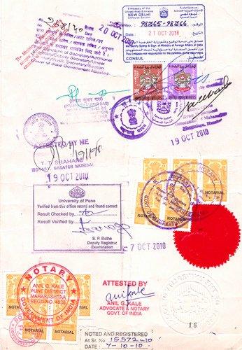 Mumbai Birth Certificate Best Of Degree Certificate attestation Passport Documentation