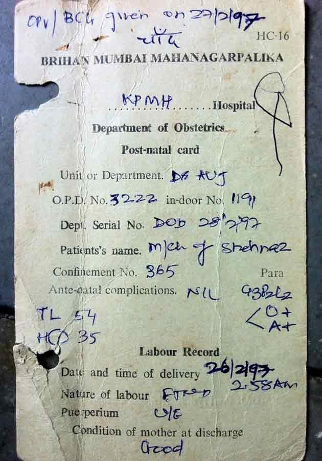 Mumbai Birth Certificate Unique Mumbai Gang Rape Arrested Suspect is Juvenile Says His