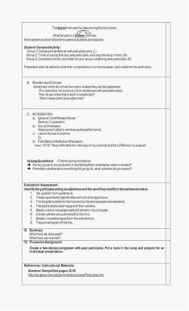 Music Lesson Plan Template Doc Unique Lesson Plan Sample In Word