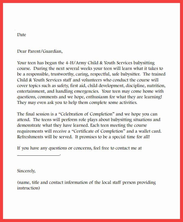 Nanny Letter Of Recommendation Inspirational Nanny Re Mendation Letter