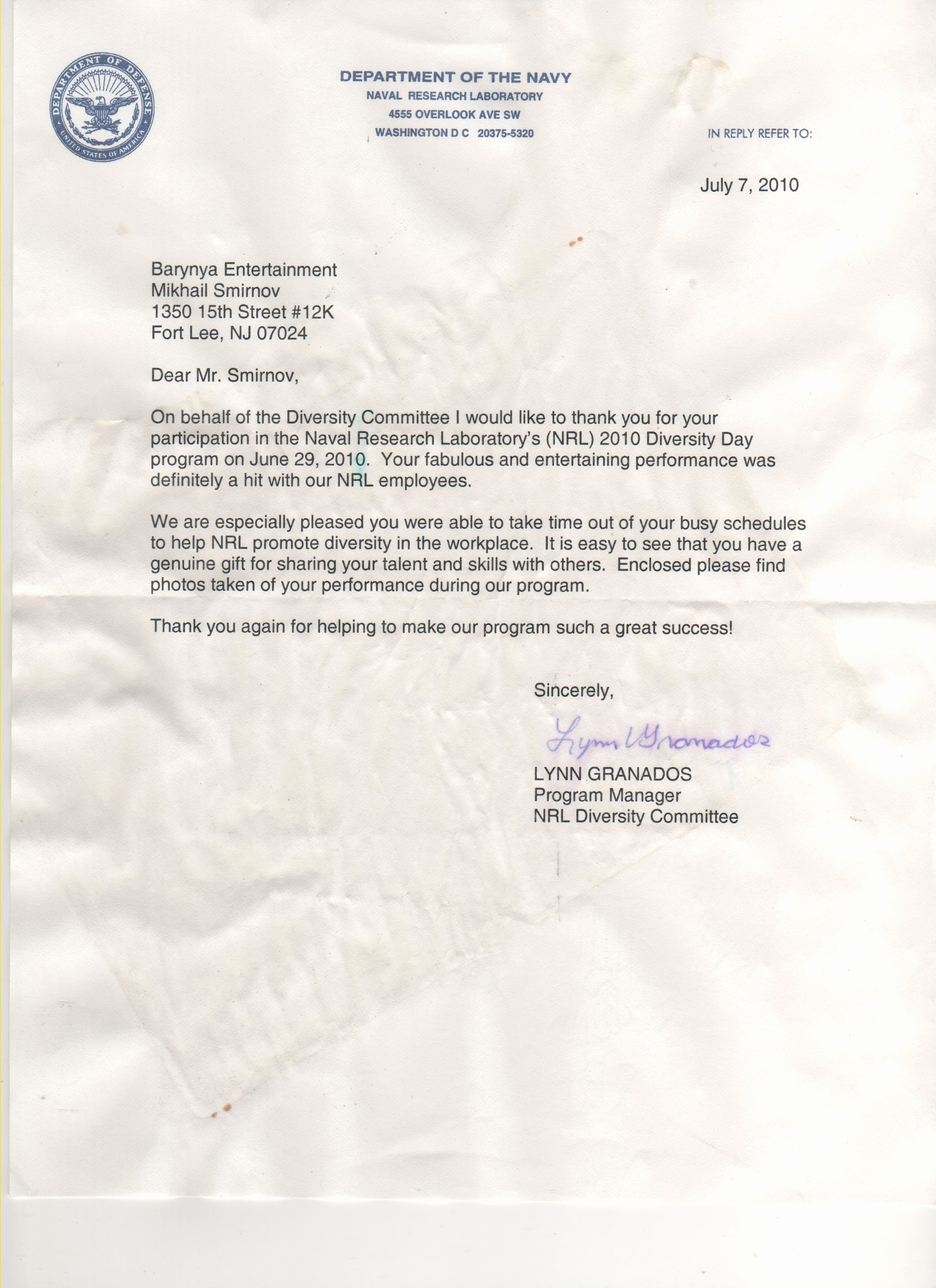 Naval Academy Recommendation Letter New Re Mendation Letters for Barynya