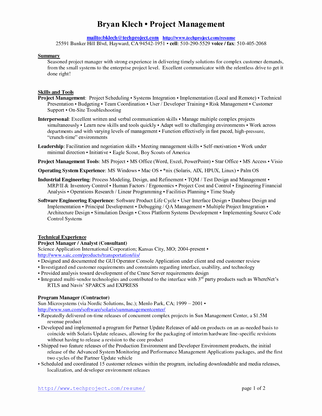 Naval Letter format Cheat Sheet Awesome Project Manager Resume Sample Doc Resume Ideas