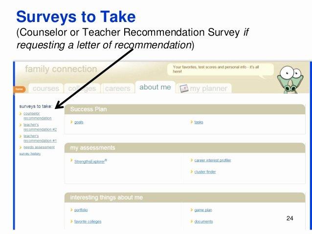 Naviance Letter Of Recommendation Unique Evhs College Application Process 2016