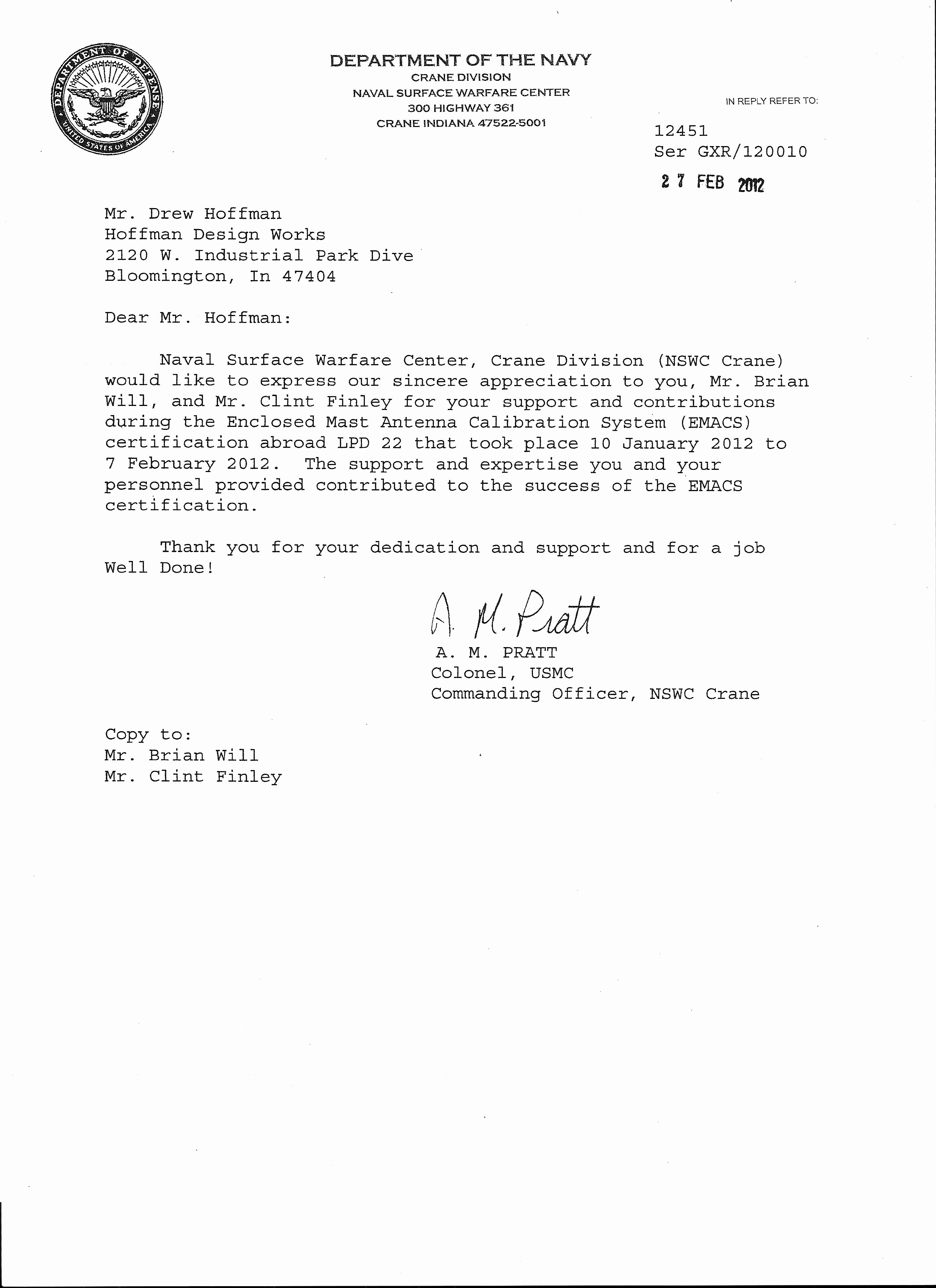Navy Letter Of Recommendation Fresh Letters Of Re Mendation