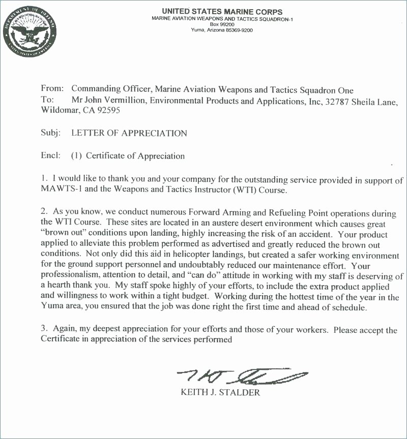 Navy Letter Of Recommendation New 15 Addressing Letter Of Re Mendation
