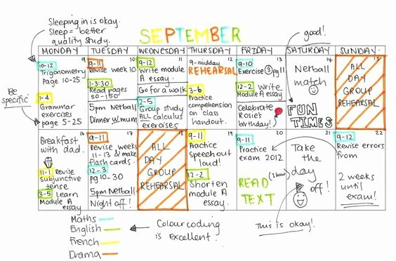 Nclex Study Plan Template New Best 10 Stundenplan Uni Ideas On Pinterest