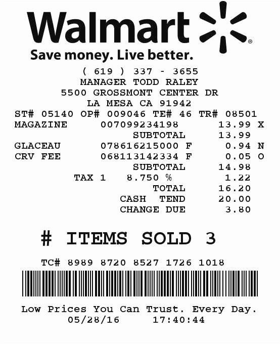 Need Walmart Receipt Template Best Of 21 New Walmart Receipt Lookup Model
