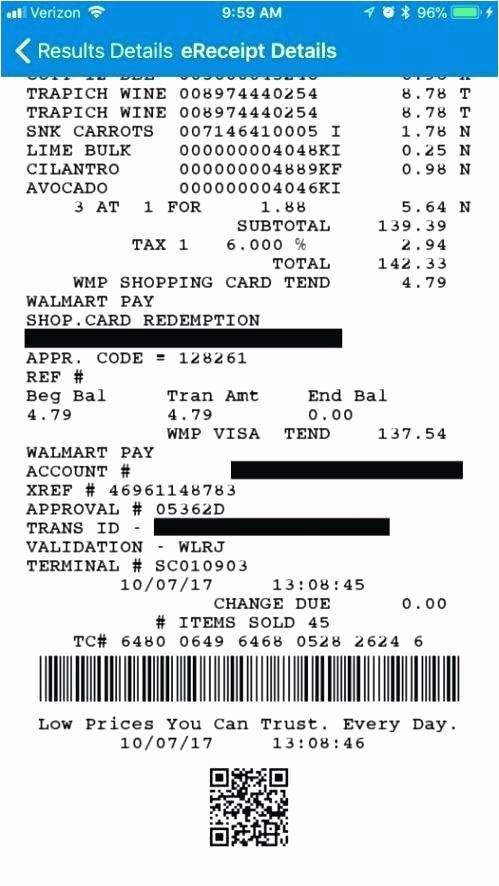 Need Walmart Receipt Template Inspirational 23 Best Walmart Receipt Reprint Gallery