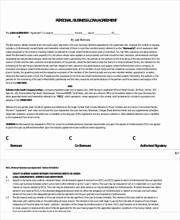 Net 30 Agreement Template Luxury 30 Loan Agreement Templates Word Pdf Pages