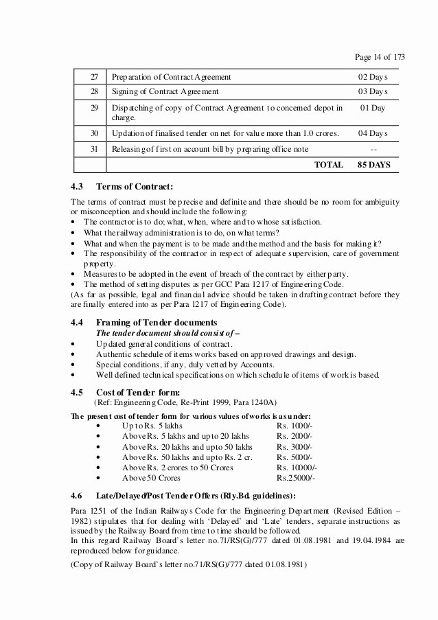 Net 30 Terms Agreement Template Awesome Handbook On Works Contract Management