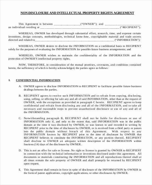 Net 30 Terms Agreement Template Luxury Mutual Non Disclosure Agreement form – 10 Free Word Pdf