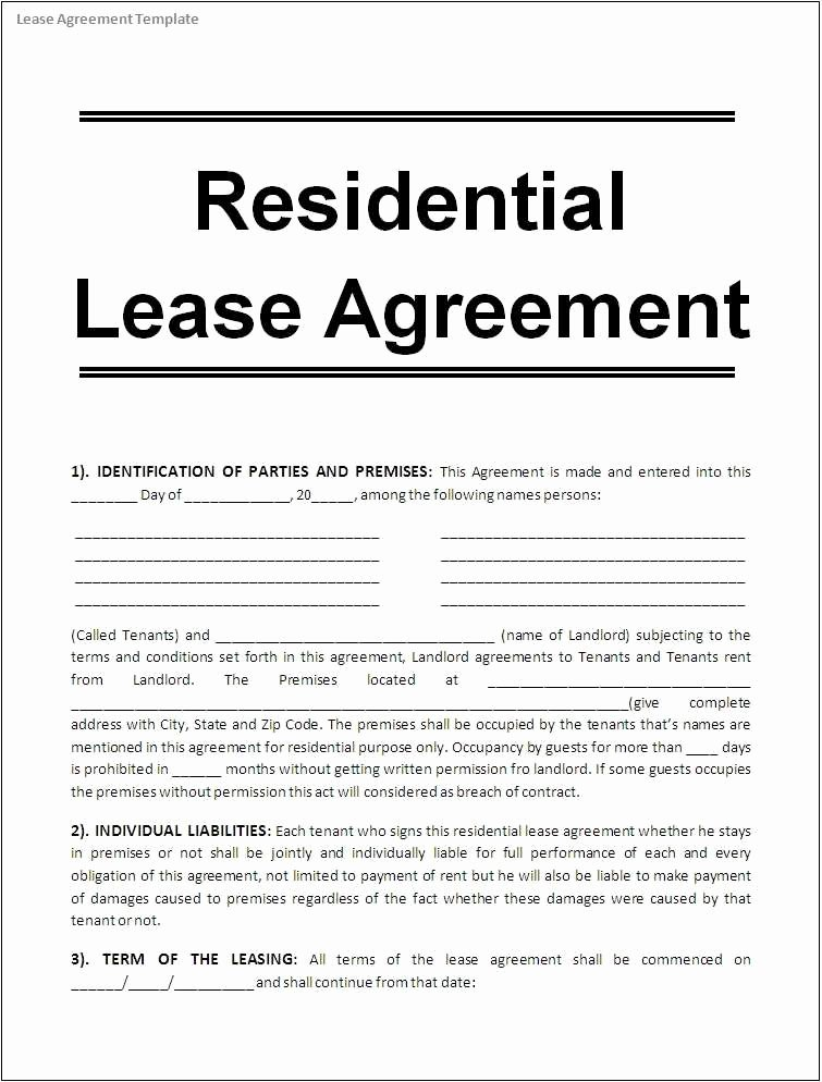 Net 30 Terms Agreement Template New 30 Plete Rental Agreement Templates Microsoft Fice