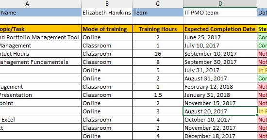 New Employee Training Plan Template Best Of Employee Training Plan Excel Template Download Free