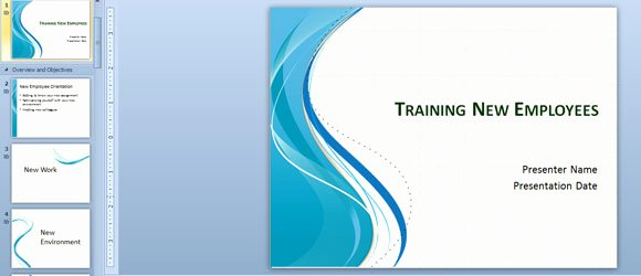 New Employee Training Plan Template Unique Training New Employees Powerpoint Template