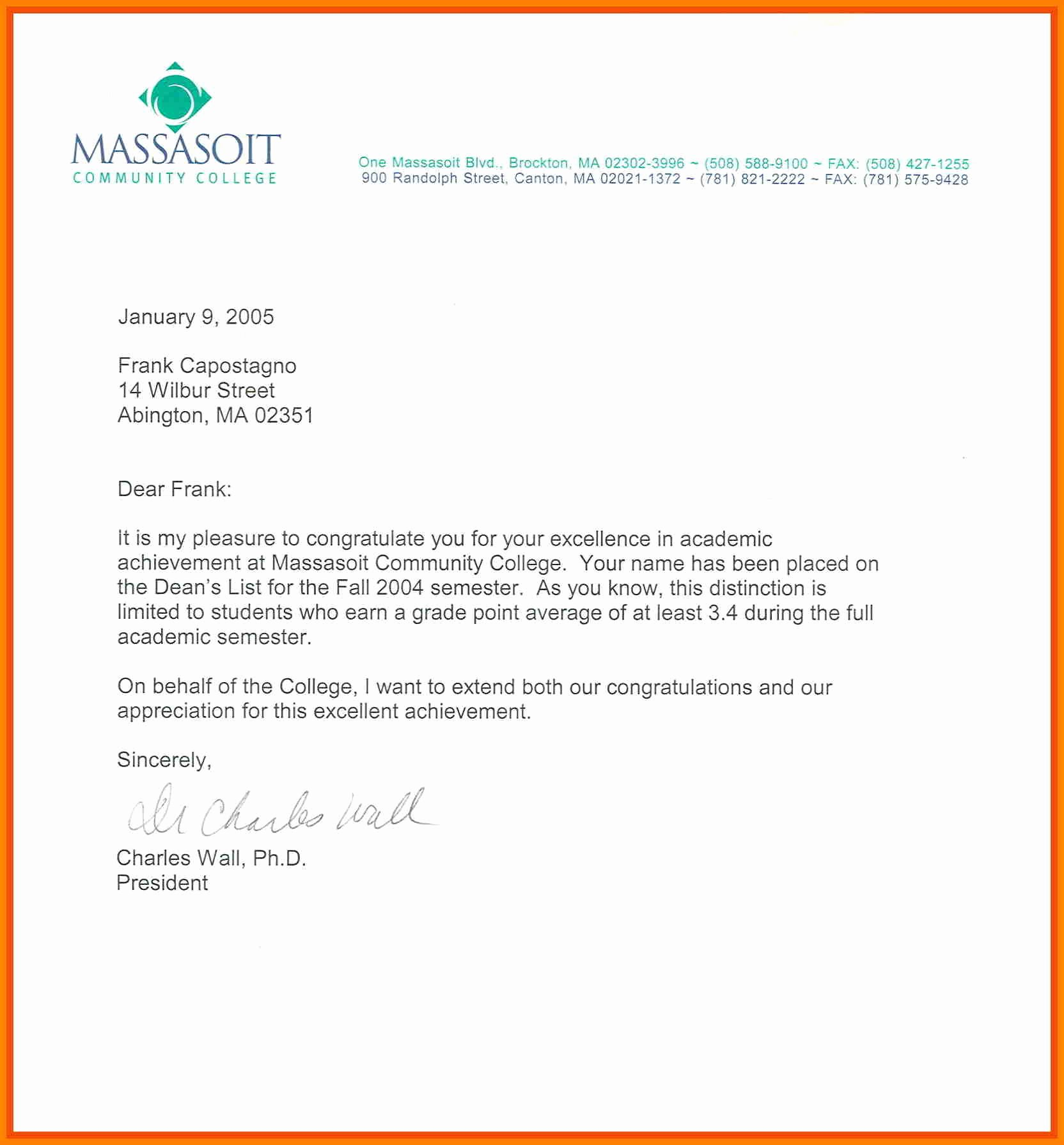 Nhs Letter Of Recommendation Sample Elegant 12 Re Mendation Letter for National Honor society
