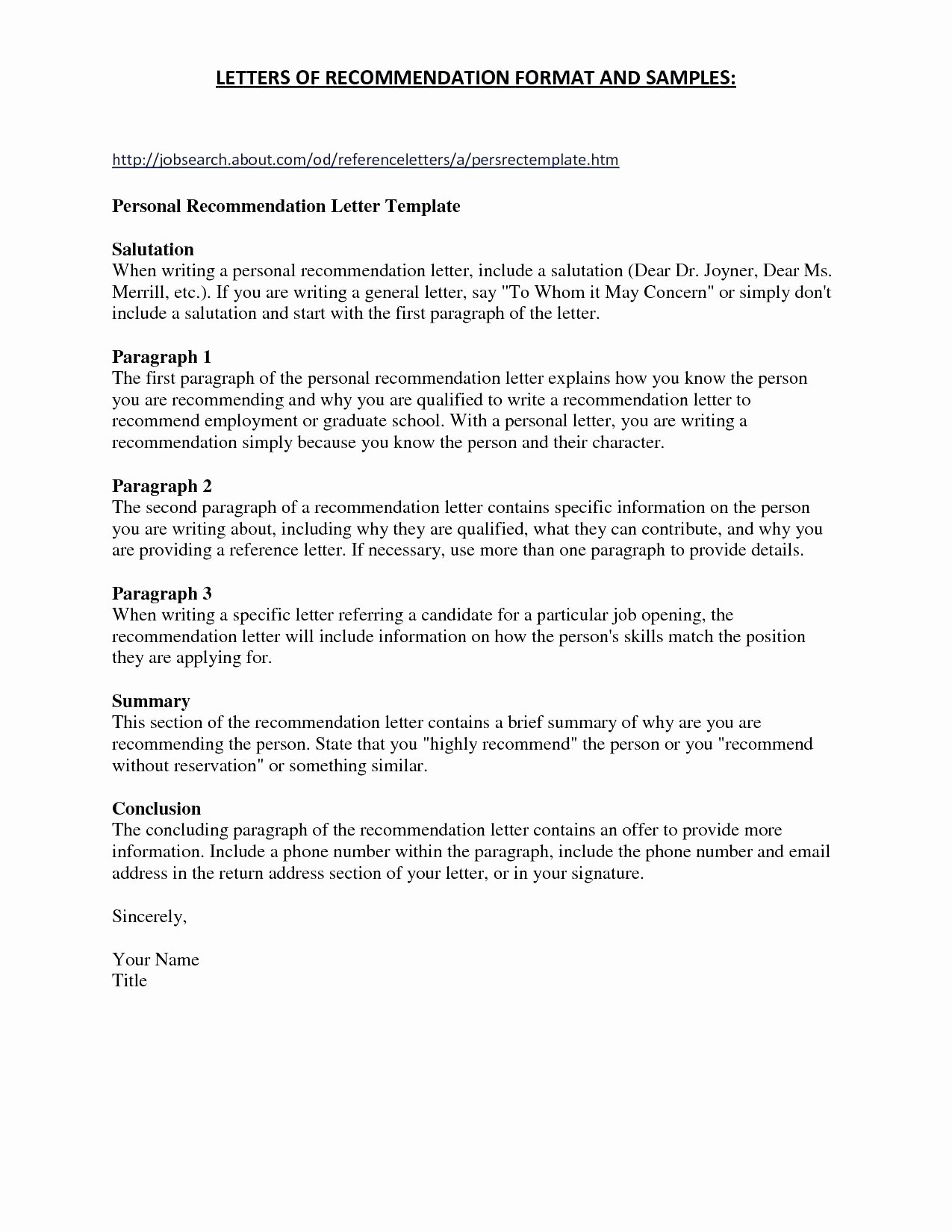 Nhs Letter Of Recommendation Template Awesome Nhs Letter Re Mendation Template Examples