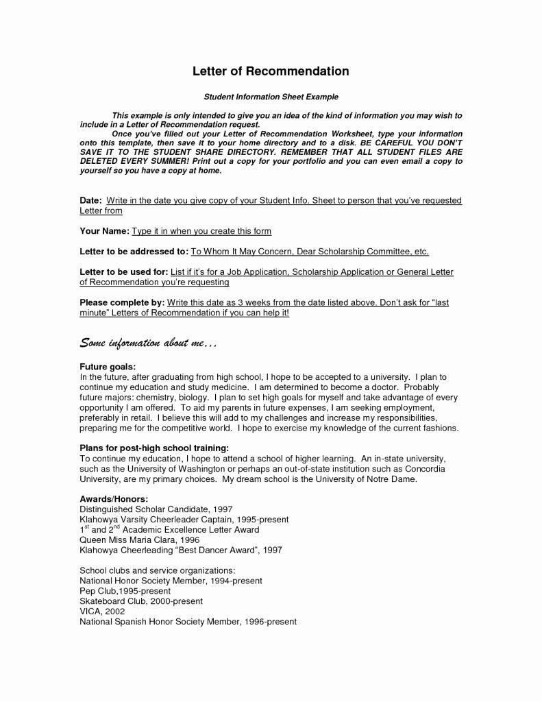 Nhs Letter Of Recommendation Template Best Of General Letter Re Mendation for Job Sample Hotel