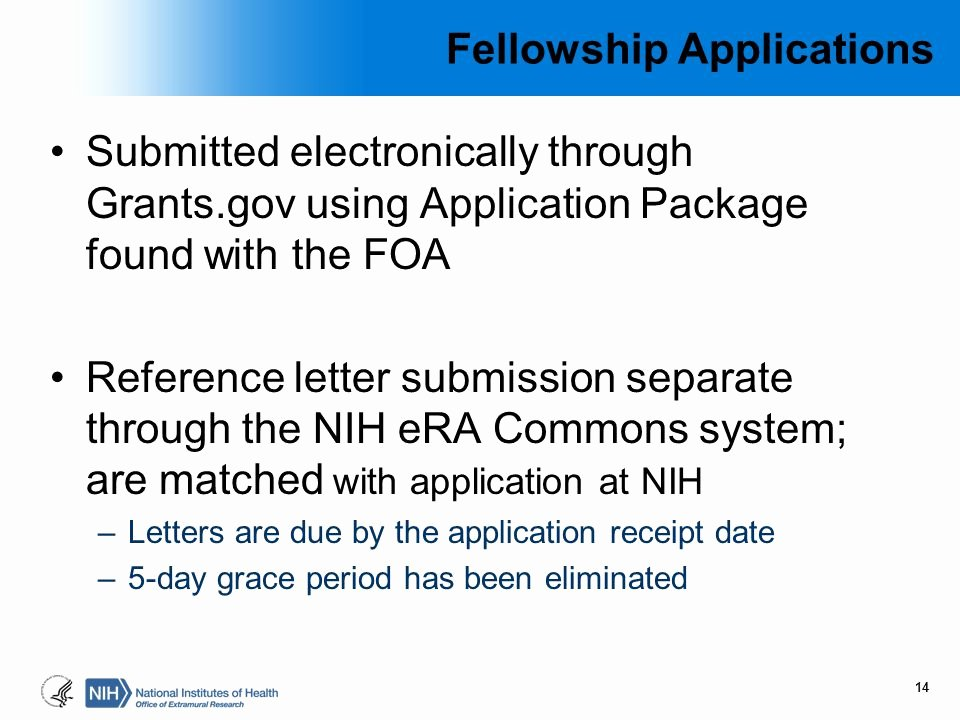 Nih Letter Of Recommendation Sample Lovely Nih Research Training Awards Ppt