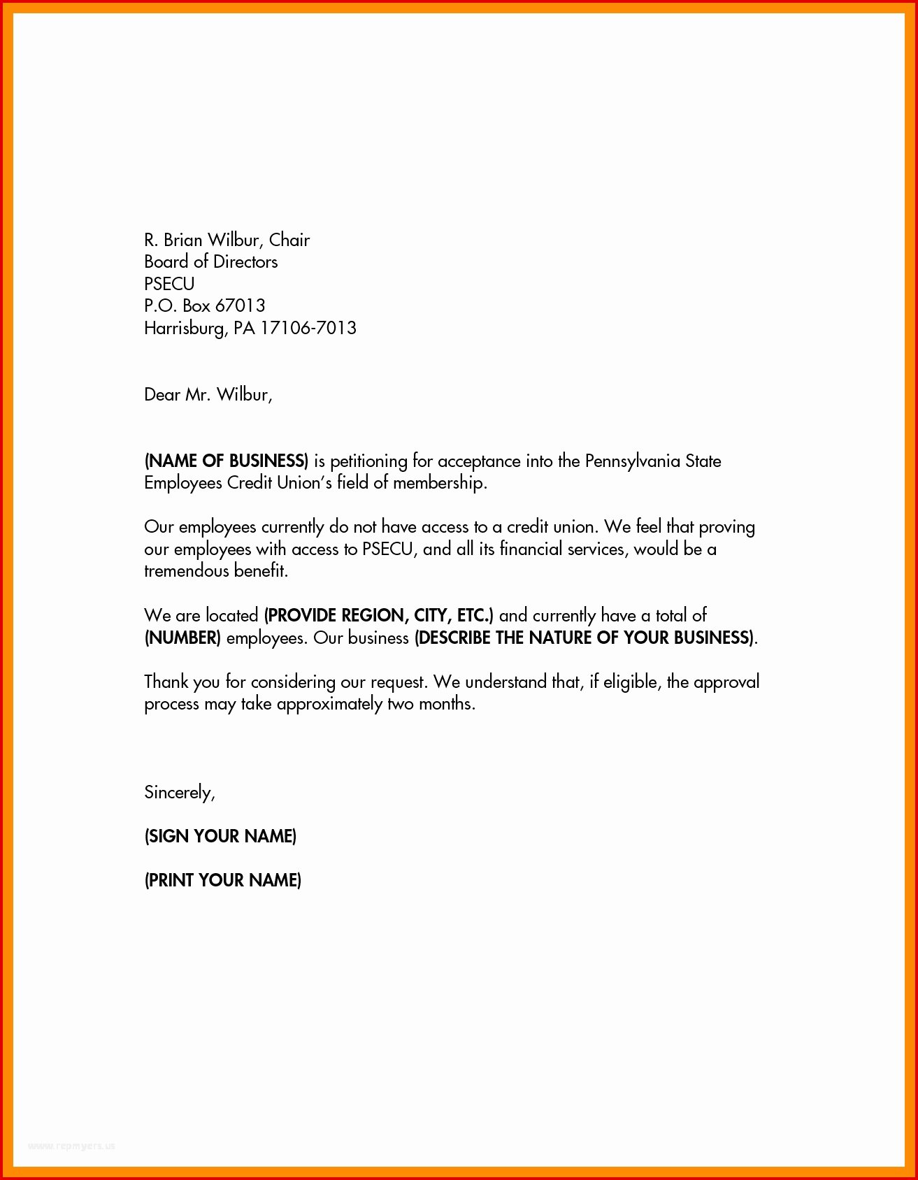 Niw Recommendation Letter Sample Fresh 63 Superfine Petition Letter format