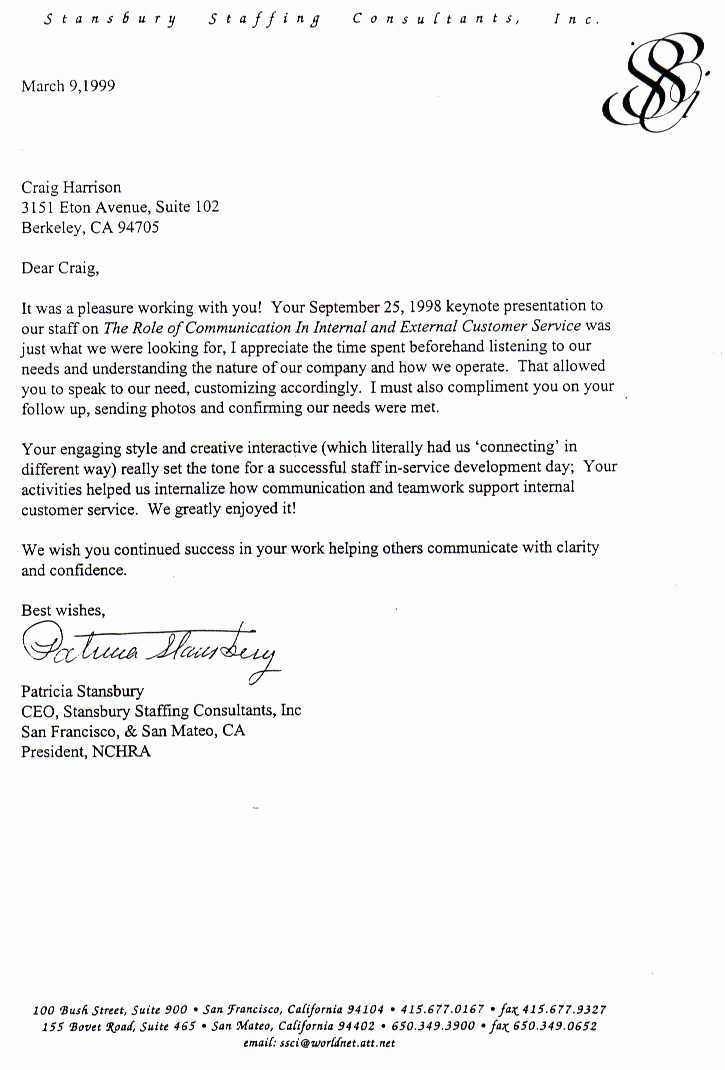 Niw Recommendation Letter Sample Lovely Testimonial Letter Samples