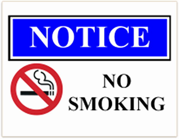 No Smoking Letter to Employees Unique form Specifications
